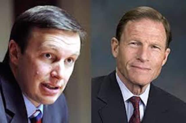 U.S. Sens. Chris Murphy and Richard Blumenthal, Democrats from Connecticut.