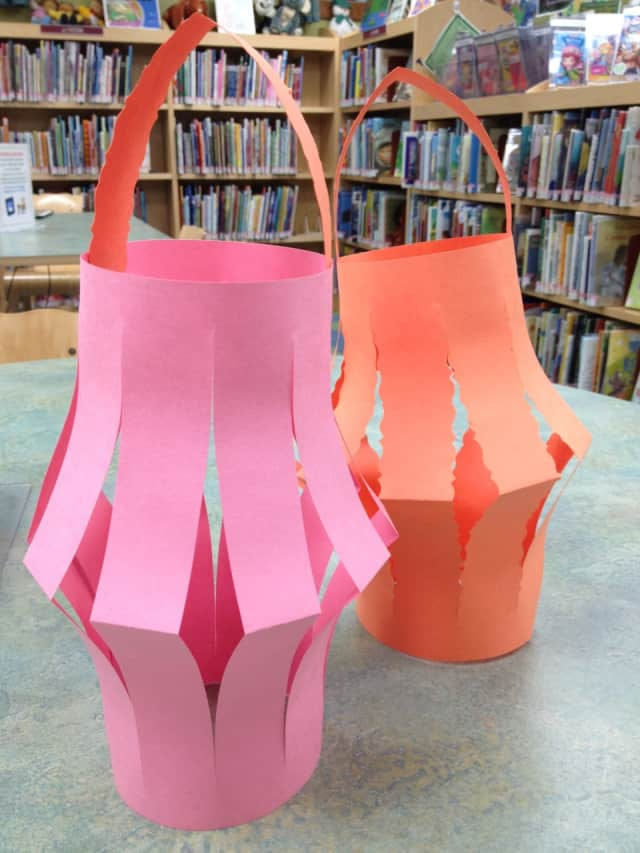 Kids can make Chinese Lanterns at the East Rutherford Library on Feb. 3.