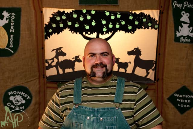 Jim Napolitano and his shadow puppets will appear at Westport Library March 19.