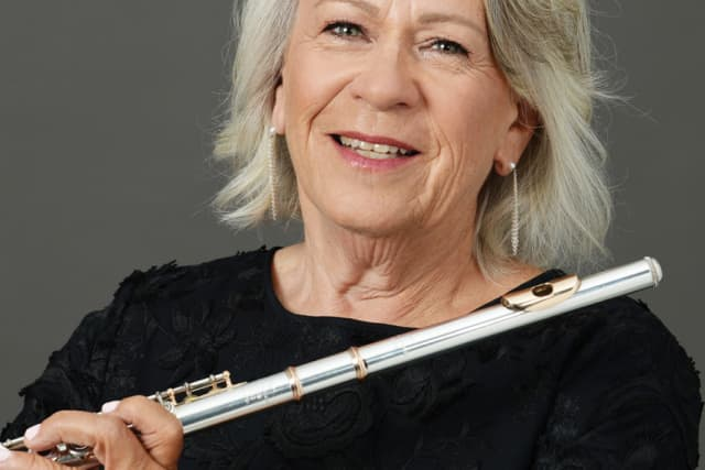 Hudson Valley flutist Marcia Gates will perform Oct. 20 with the Northern Dutchess Symphony Orchestra. Courtesy Northern Dutchess Symphony Orchestra.