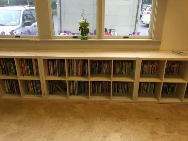 Using books collected by Gamechanger, Neighbor's Link was able to build an entire library