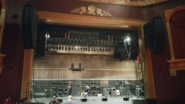 Englewood's bergenPAC recently got a sound system upgrade.