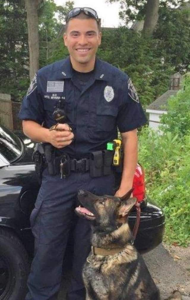 K9 Apollo and Officer David Rivera