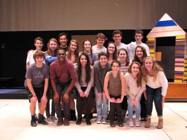"New Cannan High School Theatre presents ""Orphan Train"" Oct. 22 - 24."