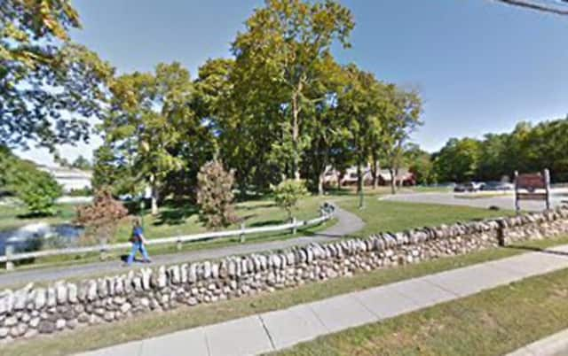 The Law Memorial Park is at 1031 Pleasantville Road.