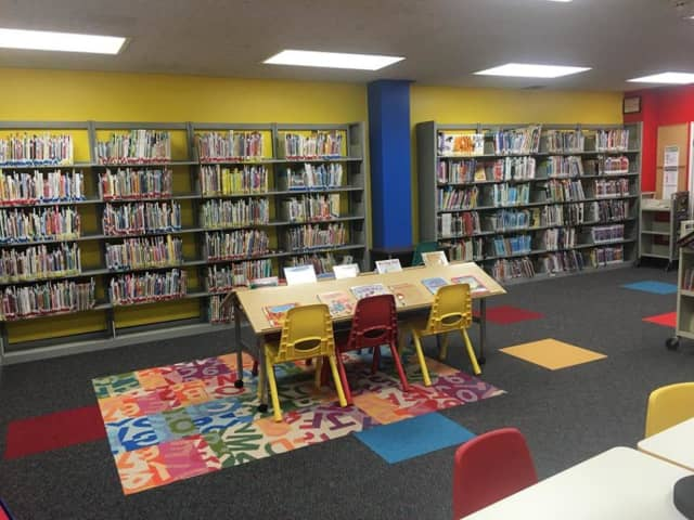 The newly renovated children's room at the Rose Memorial Library in Stony Point is open.