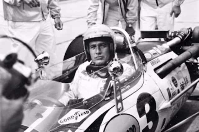 "Paul Newman, seen here during filming of the 1969 movie ""Winning,"" raced cars for 35 years. A special documentary on his life as a racer will be shown at Stepping Stones Museum for Children in Norwalk, Conn., on Wednesday, Oct. 28."