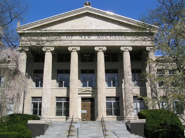 City Hall is just one example of the varied architecture to be found in New Rochelle, according to The New York Times.