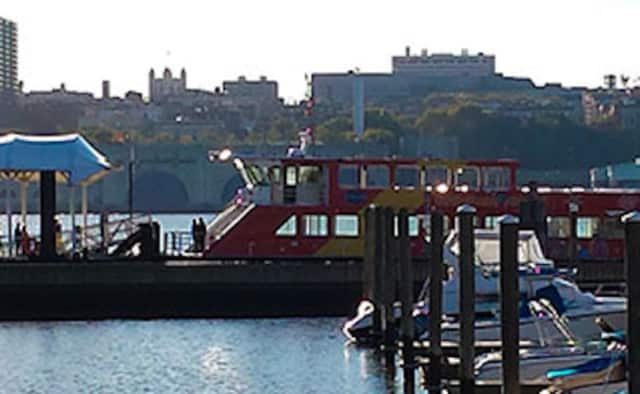 The Edgewater Ferry will have a limited schedule on Friday.