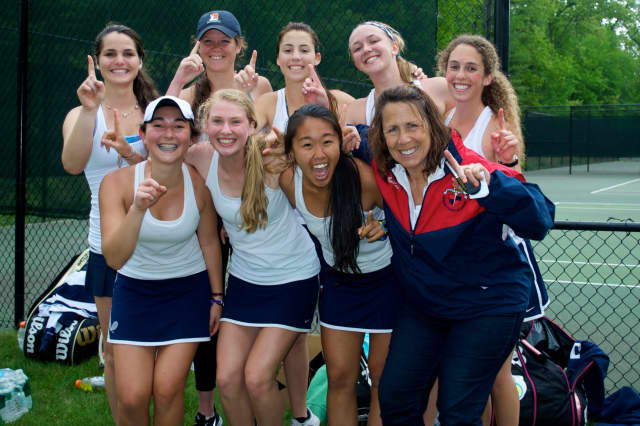 The Greens Farms Academy girls tennis team won the New England Class C championship over the weekend.