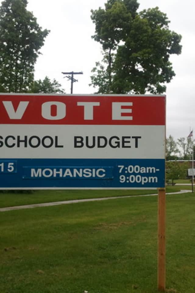 Voters will decide on the 2013-14 Yorktown Central School District's budget. Voting takes place from 7 a.m. to 9 p.m. at Mohansic Elementary School.