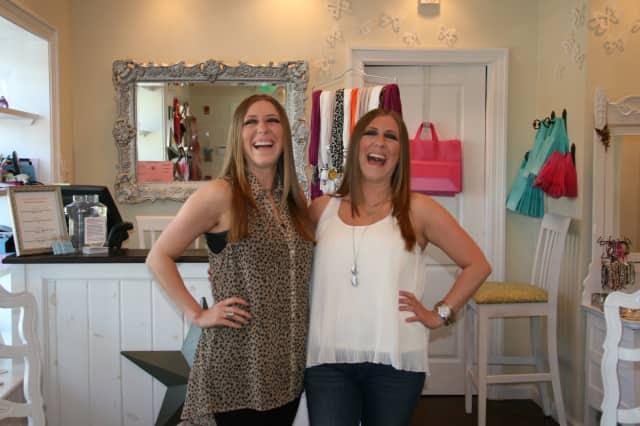 North Salem's Derma Glow is a dream come true for JoAnna (left) and Jennifer Sciarrino.