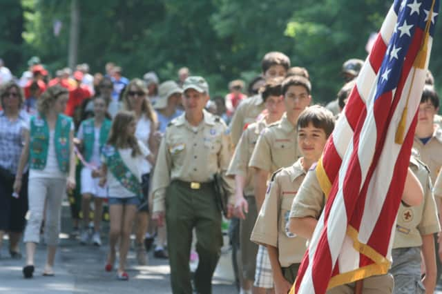 A number of parades are planned in the area this Memorial Day weekend.