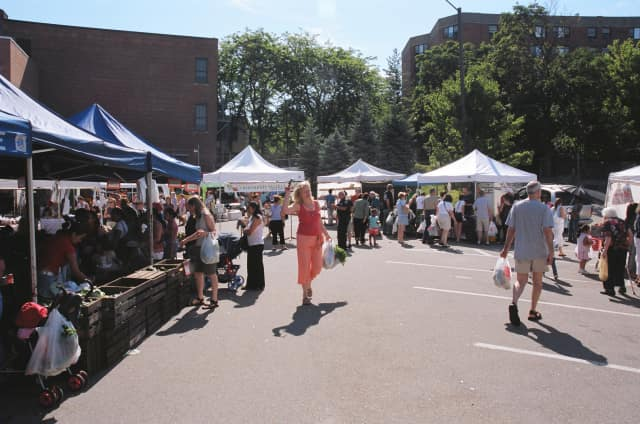 The Ossining Farmers Market begins its 22nd season this Saturday and is one of the highlights of this weekend's events.