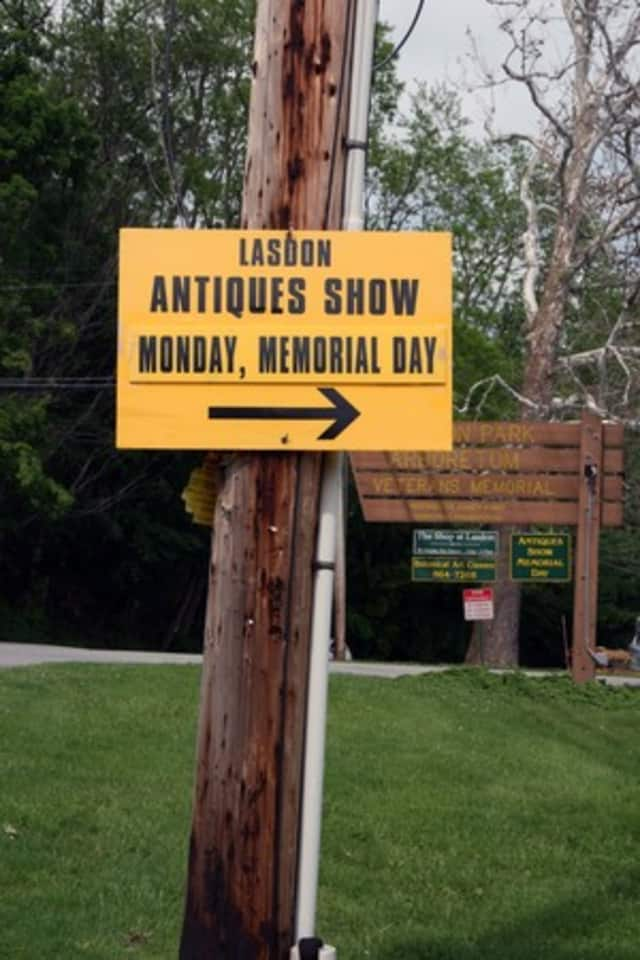 The 27th Annual Memorial Day Antiques Fair at Somers' Lasdon Park and Arboretum is one of the highlights in Yorktown and Somers this weekend.