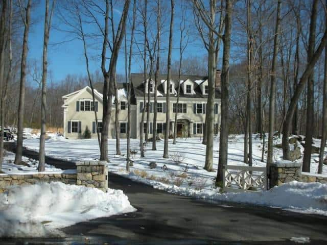 The home at 275 Thayer Pond Road in Wilton recently sold for $1.7 million.