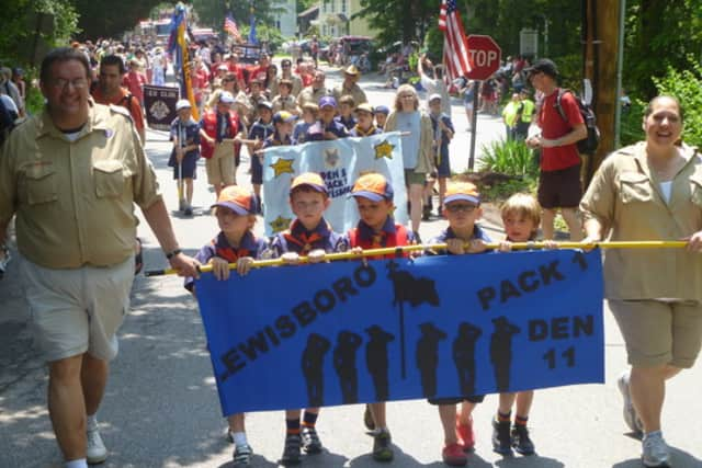 A number of parades are planned in Lewisboro for Memorial Day.