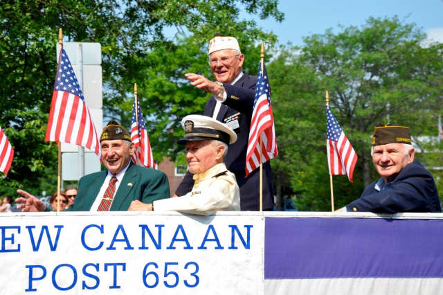 The Memorial Day parade in New Canaan will be shortened this year due to the rainy forecast.