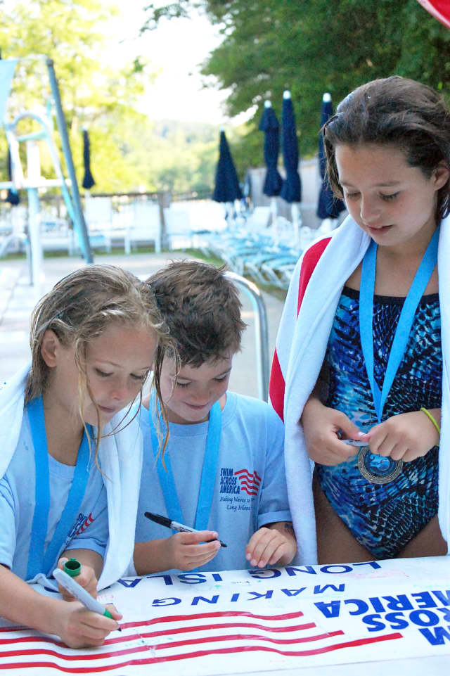 North Salem's Lakeside Field Club will host its 3rd annual Swim Across America in July.