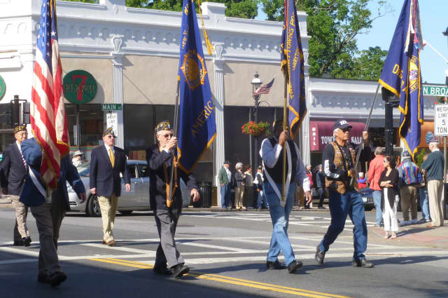 Tarrytown and Sleepy Hollow observed Memorial Day on Monday with its annual parade.