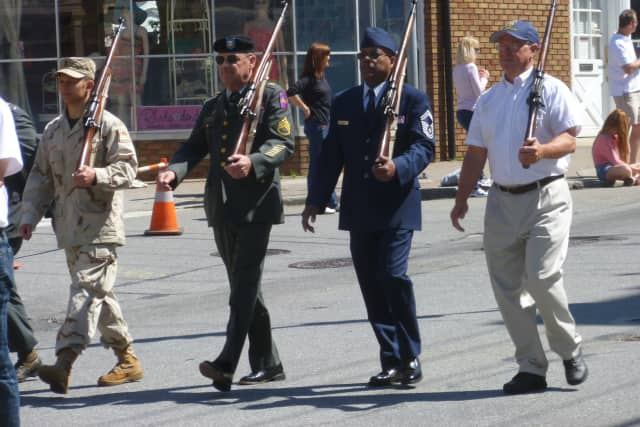 Pleasantville hosted its annual Memorial Day Parade on Monday.