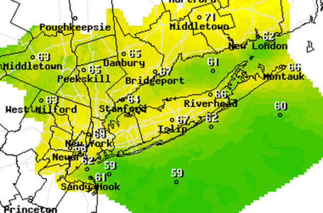 The region's in for another round of rain early this week the National Weather Service forecasts.