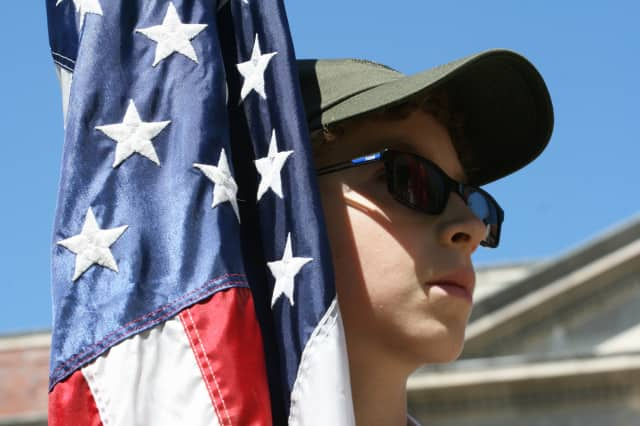 Hundreds of people came out to celebrate Memorial Day in North Salem.