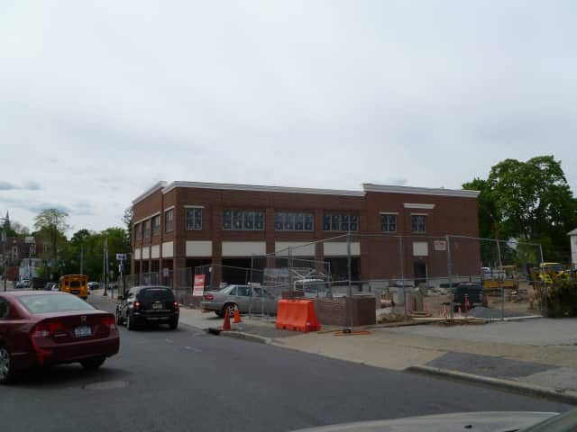 The new Walgreens building at Ashford Ave. and Broadway in Dobbs Ferry.