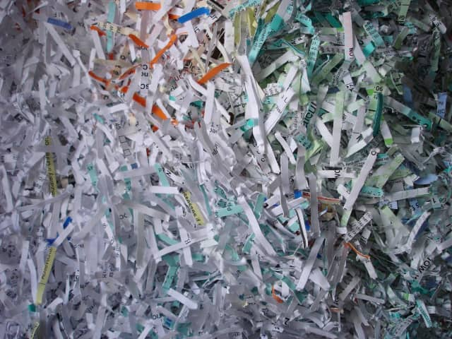 Westchester residents can use the mobile paper shredder that's coming to Hastings this weekend.