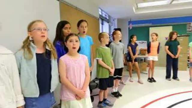 "Springhurst School fourth graders will present the anti-bullying musical ""All Thr Same"" Thursday."