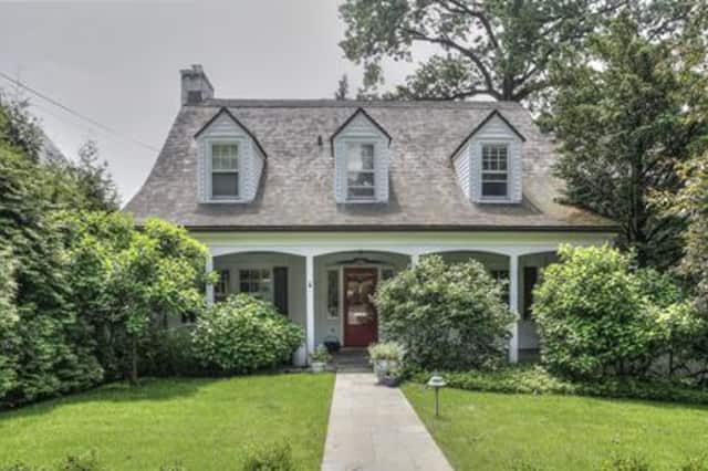 This Bronxville home is selling for more than $1 million.