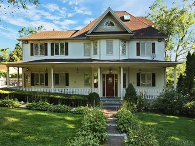 This large Colonial is on the market in Scarsdale for $1,999,000. It is having an open house this weekend.