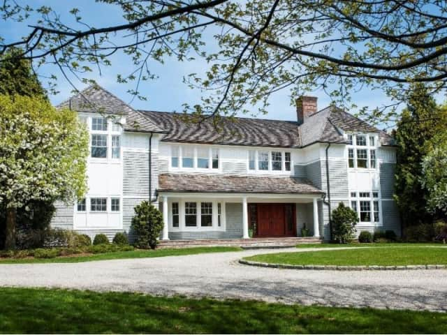 The home at 1021 Ponus Ridge Road in New Canaan will be open from 1 to 4 p.m. on Sunday.