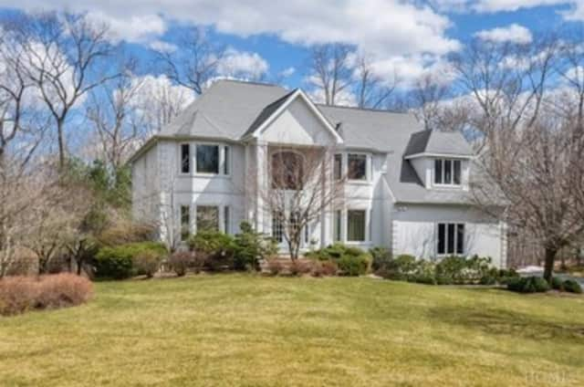 This five-bedroom home on Pond Hollow Court is listed for $1.6 million.