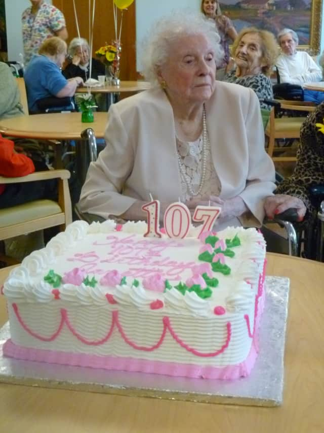Annetta Bigley's 107th birthday was one of the top stories of the week in the Rivertowns.
