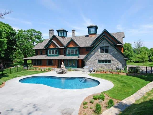 The home at 14 Middlebrook Farm Road in Wilton recently sold for over $2.2 million.