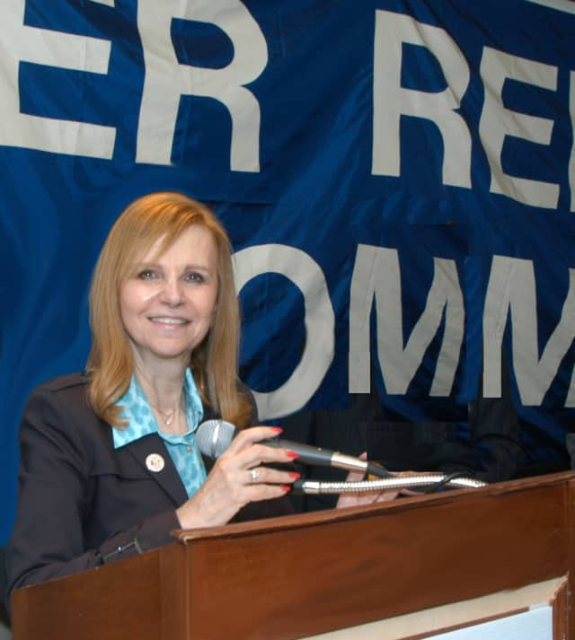 Miriam Levitt Flisser accepted the Republican nomination for the District 5 County legislator seat in November's election.
