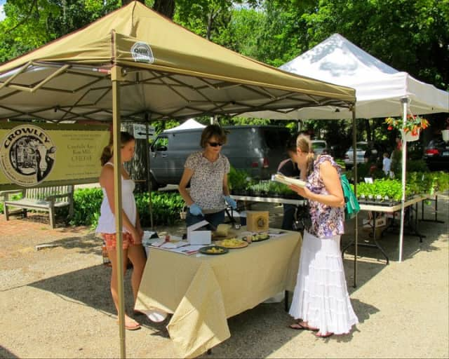 A new season of the Wilton Farmers Market opens this Wednesday at 12:30 p.m. outside the Wilton Historical Society.