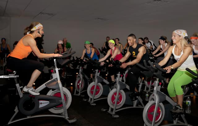 JoyRide Cycling Studio in Westport is hosting their own Olympics.