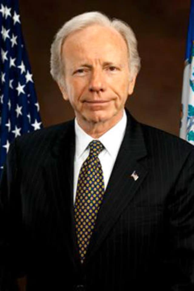 Former U.S. Sen. Joseph Lieberman is a Stamford native.