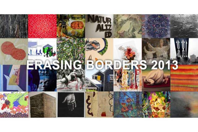"""Erasing Borders - Contemporary Indian Art of the Diaspora"" is on exhibit at North Salem's Hammond Museum."