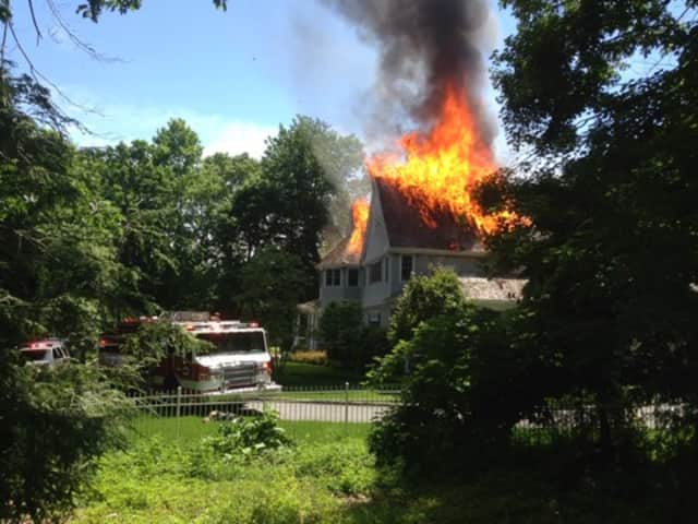 A house fire in Chappaqua topped this week's news.