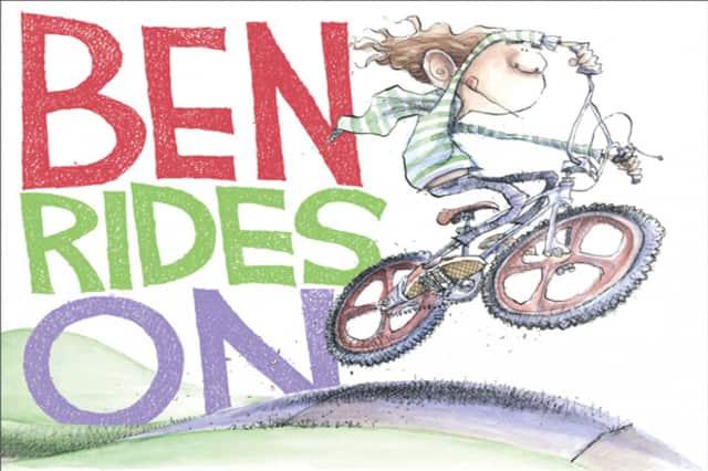 "Pulitzer Prize-winning cartoonist Matt Davies of Wilton will will read his new children's book ""Ben Rides On"" at the Wilton Library Saturday."