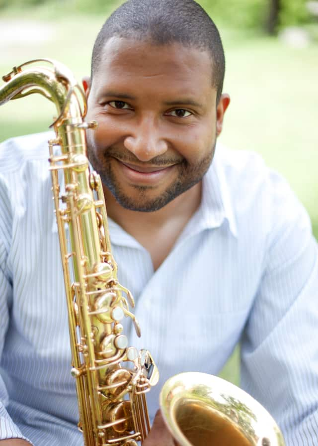 Jimmy Greene, a Western Connecticut State University Music professor, was nominated for two Grammy awards. His 6-year-old daughter, Ana, died in the shootings at Sandy Hook Elementary School on Dec. 14, 2012.