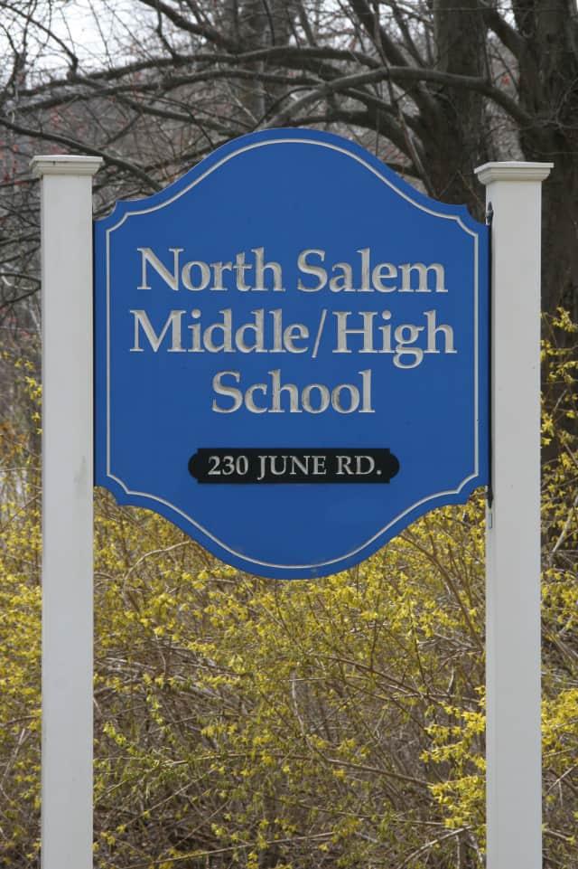 The North Salem Teachers' Association issued an advisory about vandalism Monday.