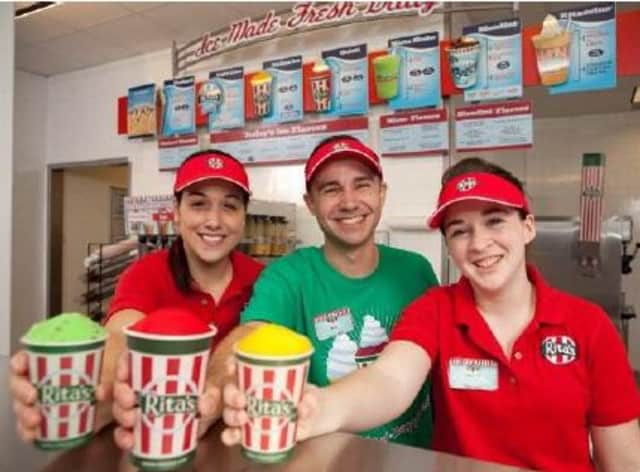 Rita's Italian Ice in Yorktown Heights is set for a Grand Opening giveaway on June 20 to benefit the Guiding Eyes For The Blind.