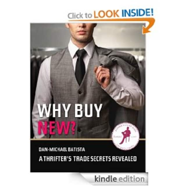 Former Hastings resident Dan-Michael Batista published a men's self-help guide to shopping.