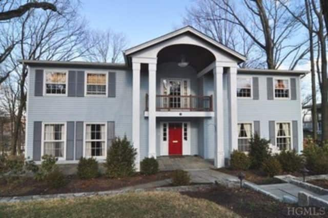 This home at 252 Clinton Ave. in Dobbs Ferry can be seen Sunday from 1-3 p.m.