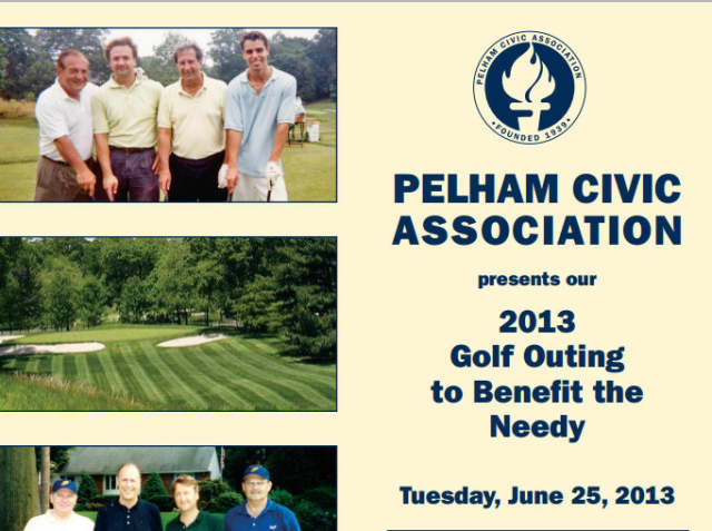 The 24th annual Pelham Civic golf outing is June 25th at Pelham Country Club.
