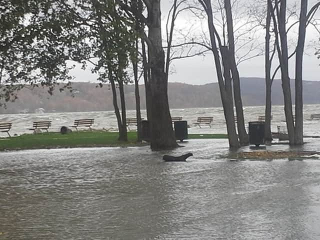Cortlandt Manor officials said the town is prepared for the upcoming storms. The National Weather Service issued a flood watch until Friday afternoon.